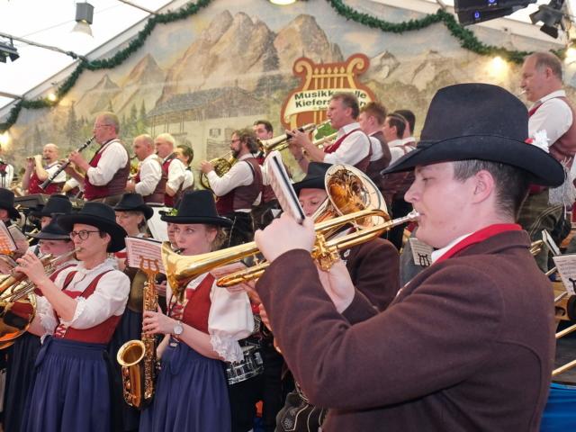 Blasmusik Konzerte der Musikkapelle Kiefersfelden