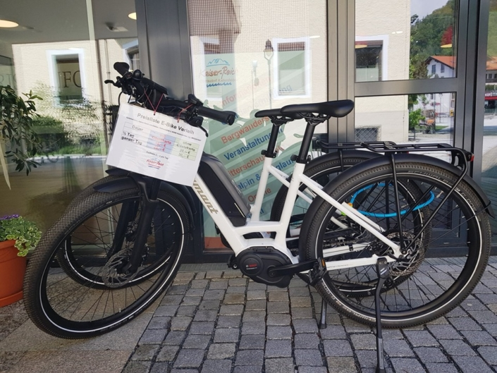 E-Bikes Verleihstation Tourist-Information Kiefersfelden
