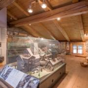 Holzmodelle zu historischen Bauten in Kiefersfelden