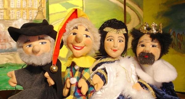 Handpuppen des Kieferer Puppentheaters