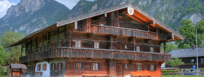Historischer Bau Blaahaus in Kiefersfelden