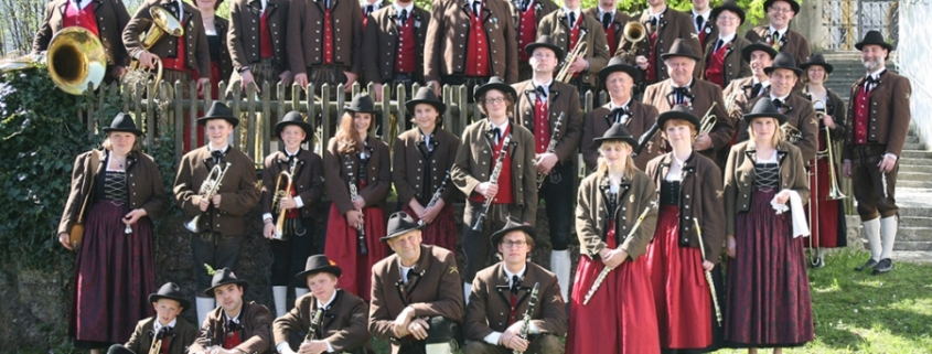 Musiker der Sensenschmied Musikkapelle Mühlbach