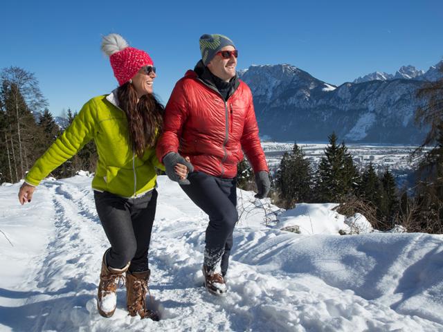 Winterwandern im Kaiser-Reich Kiefersfelden