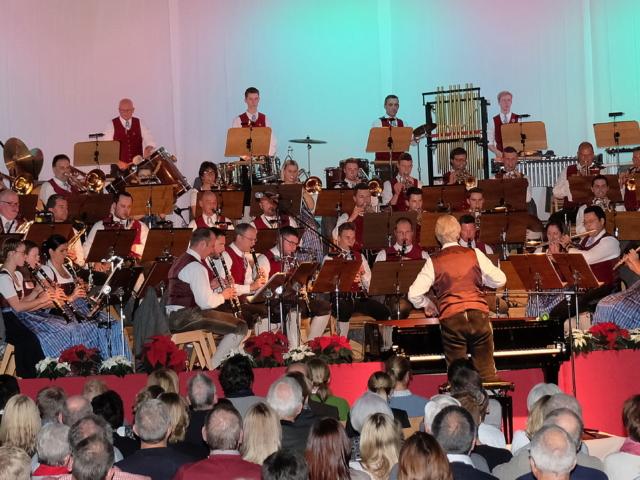 Cäcilienkonzert Musikkapelle Kiefersfelden 14. Dezember