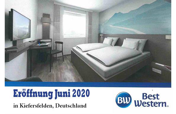 Hotel Eröffnung  Juli 2020